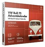 FRANZIS VW Bulli T1 Adventskalender 2020   In 24 Schritten zum Bulli unterm Weihnachtsbaum   Das Kultauto im Maßstab 1:43  Ab 14 Jahren