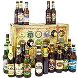 Bier Adventskalender Welt und Deutschland, MEHRWEG 24 Flaschen Bier,  Geschenk mit Bieren aus aller Welt & Deutschland+ Bieradventskalender